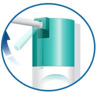 использование спрея для горла, удобная насадка на спрей